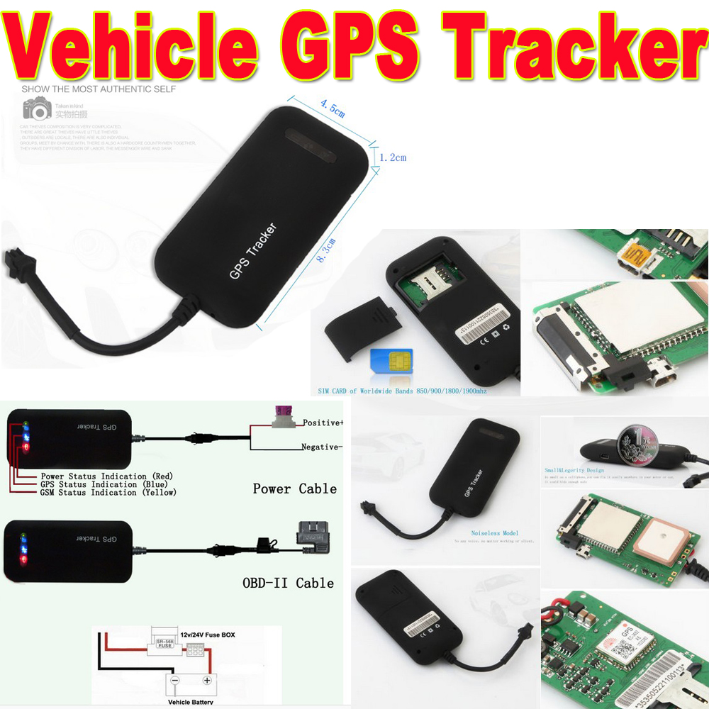 2018 New Gps Products Super Long Battery Life Smart Car Tracker Fuse Box Tracker02a 1