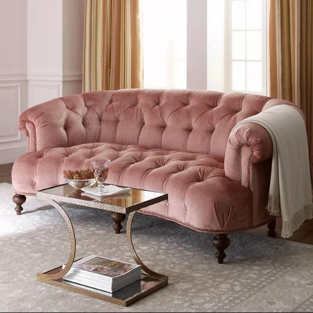 Hot Elegant Design Velvet Sofa Set For Hotel Sets Product On Alibaba