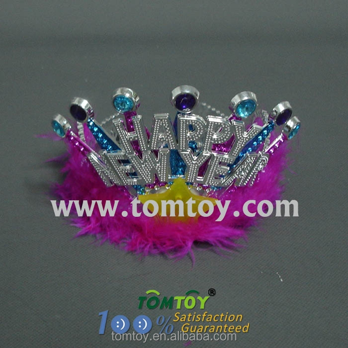 Happy New Year LED Light up Tiara Headband Crown