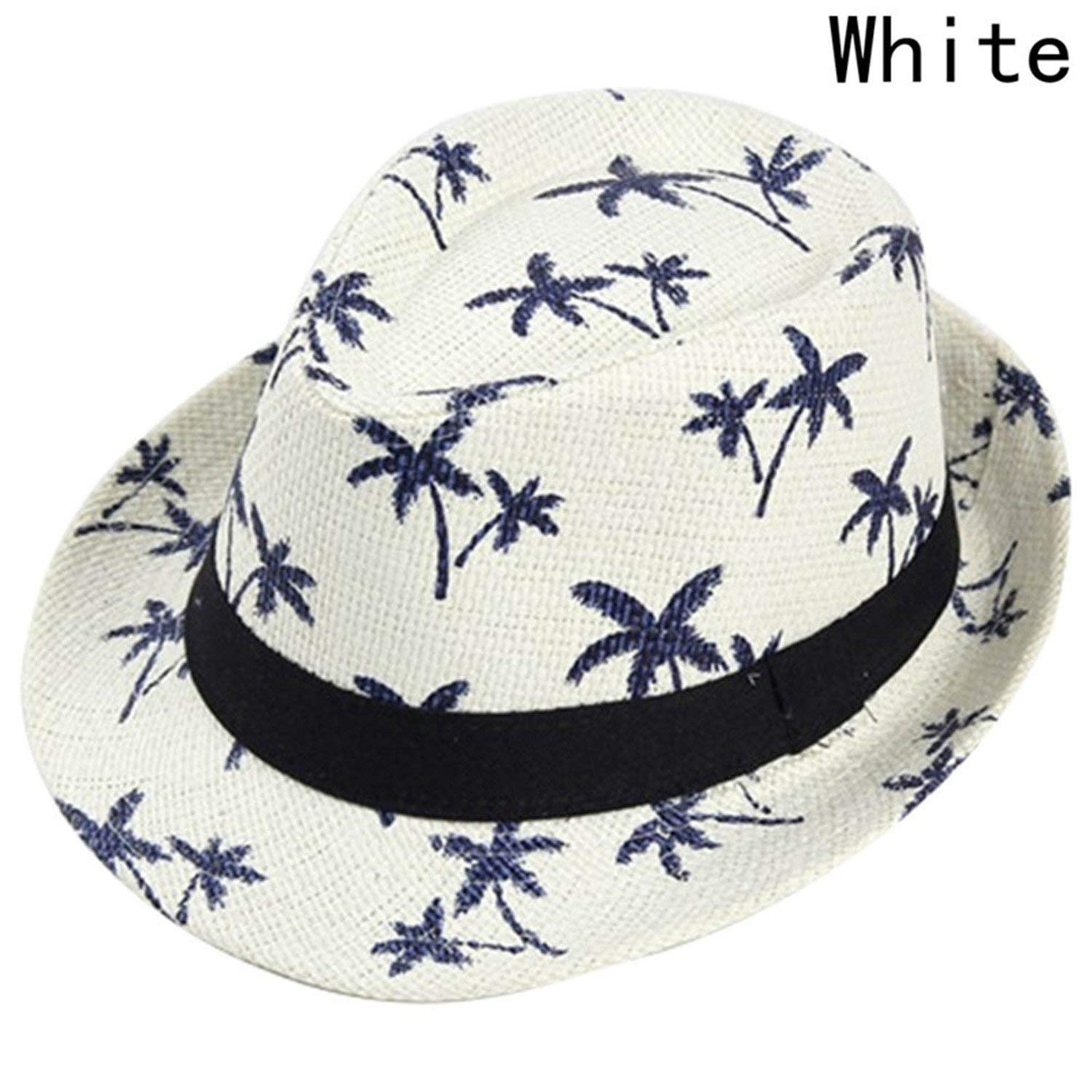 4b272c48537ae Get Quotations · New Summer Straw Sun Hat Kids Beach Sun Hat Trilby Panama Hat  Handwork for Boy Girl