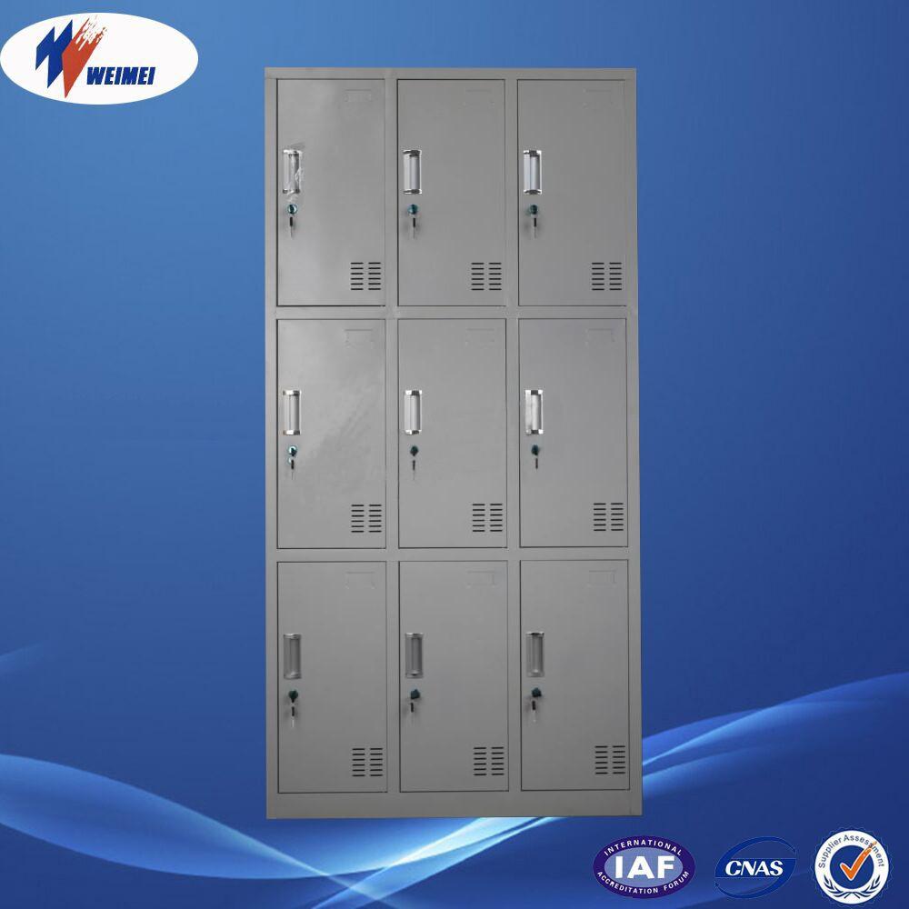 Lockable Bedroom Furniture Steel Lockable Clothes Wardrobe Cabinet For Officeschoolfactory
