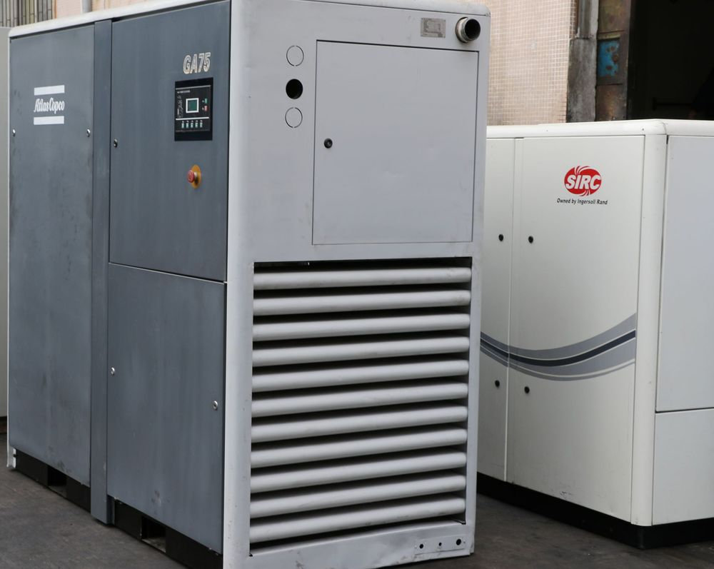 Used Compressor Atlas Copco Used Air Compressor Used For Sale ...