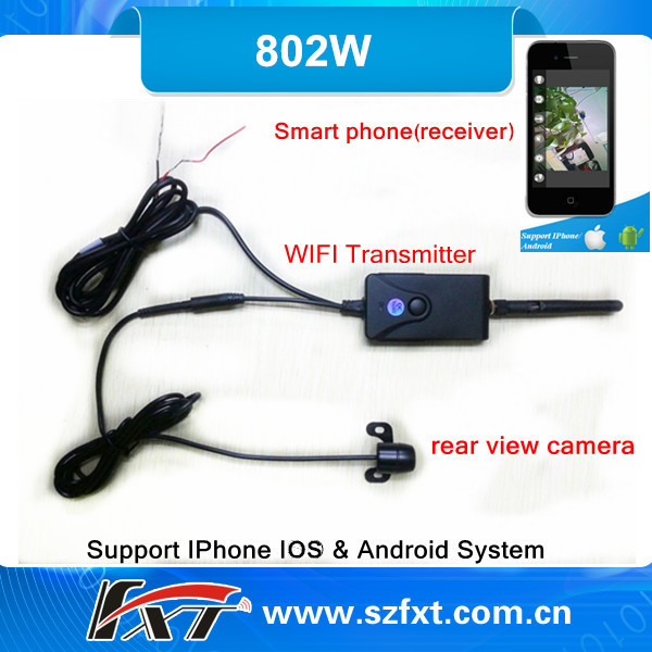 Wireless Car Rearview Camera Waterproof 150m Wifi Wireless Backup Camera For mazda 5,Support IPhone,IPad,android phone