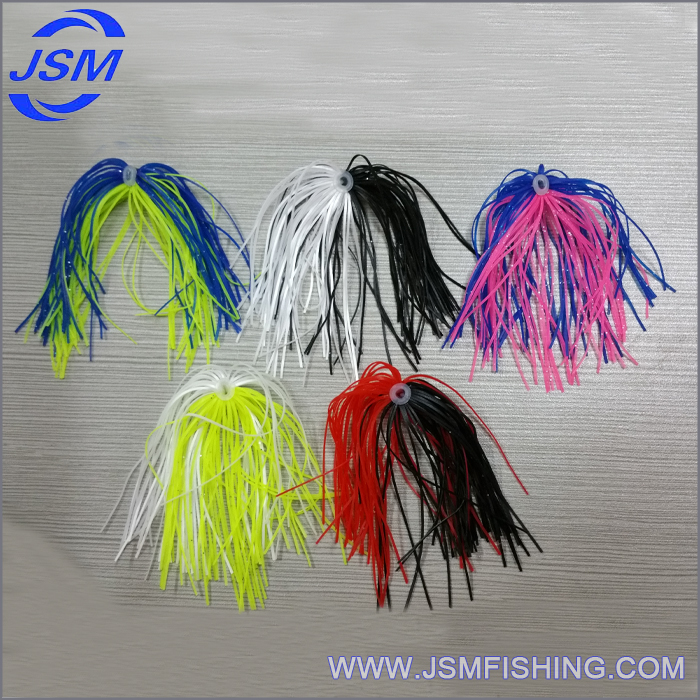 Fishing Silicone Skirt Making Material,Rubber Skirt Tab