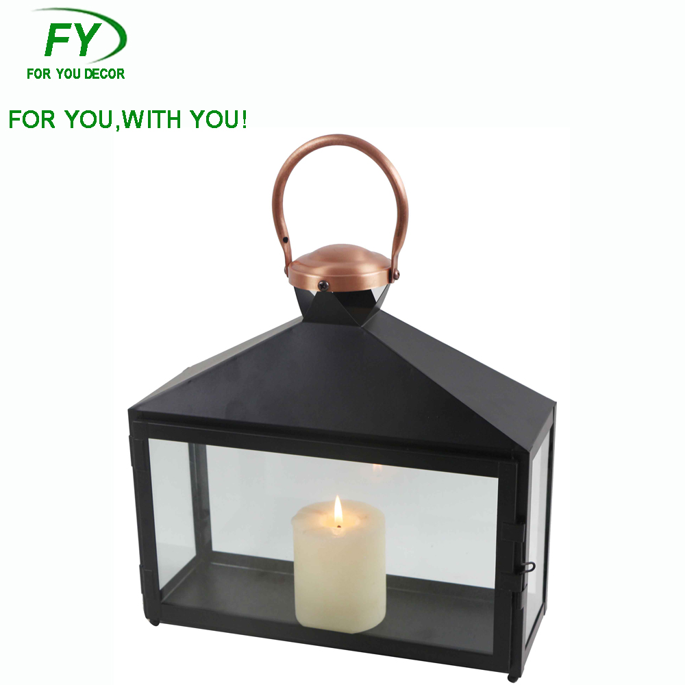 ML - 2301 Outdoor decorative moroccan metal lanterns candle holder