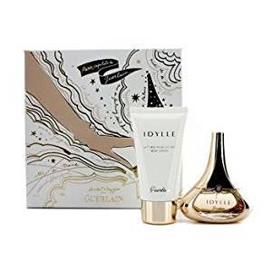 9e23ba2c294 Get Quotations · Guerlain Idylle Coffret  Eau De Parfum Spray 35ml 1.2oz +  Body Lotion 75ml