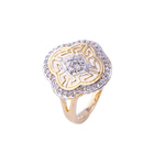 11888 Fashion class design women fancy AAA Cz Stone luxury ring
