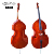 High quality popular handmade double bass cello string instrument from China