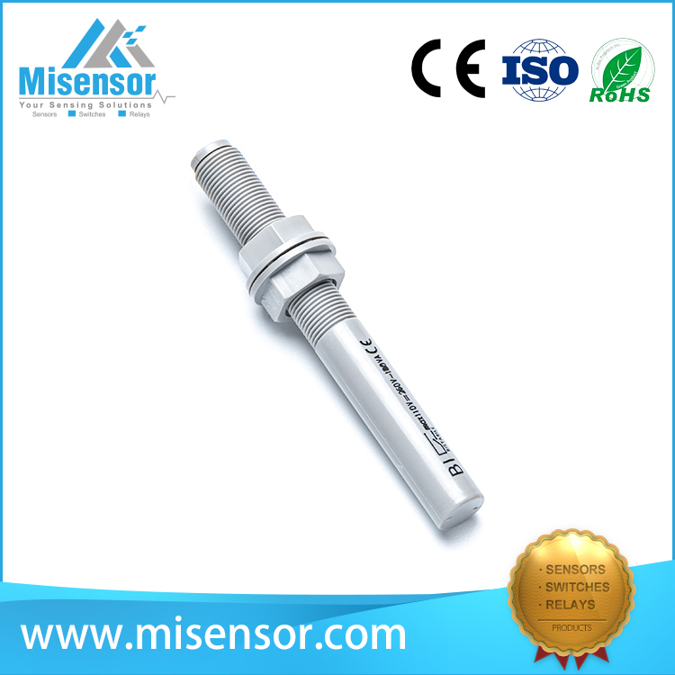 Copper cylindrical M8 screw magnetic reed proximity sensor