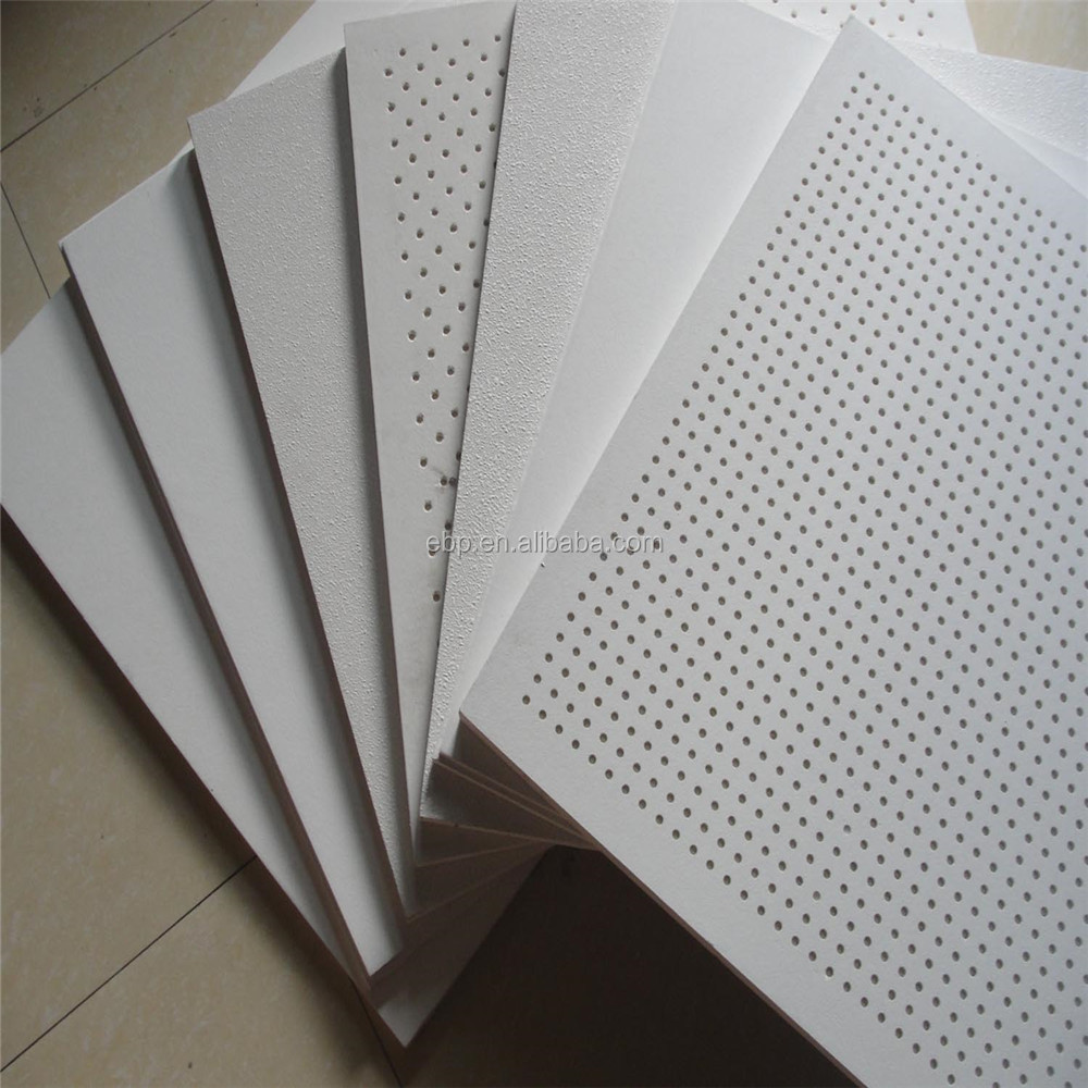 Office Ceiling Tiles Are Manufactured From High Density Bio Soluble Resin  Bonded Gals Wool Absorbed With A Series Of Textile Fabric Surface, ...