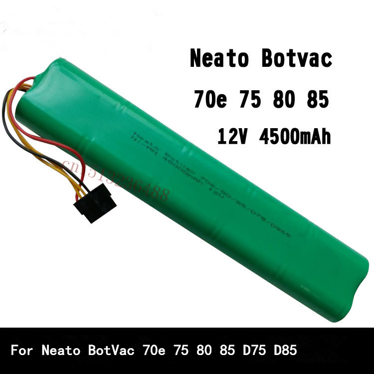 12v 4500mah replacement battery for neato botvac 70e 75 80 85 d75 d85 replaces 945 0129. Black Bedroom Furniture Sets. Home Design Ideas