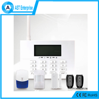 High Quality Smart Home Security touch screen backup battery wireless Alarm System for home