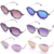 2018 newly glasses frames for women vintage clear fashion frame polarized sunglasses