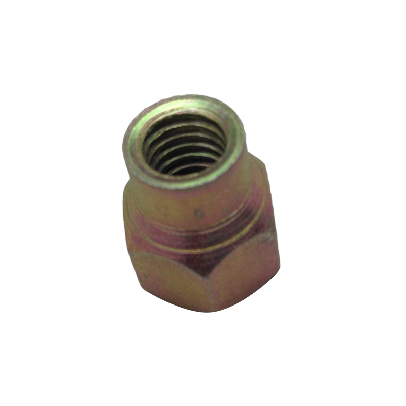 CL8 YELLOW ZINC PLATED HEX NONG NUT MADE IN CHINA