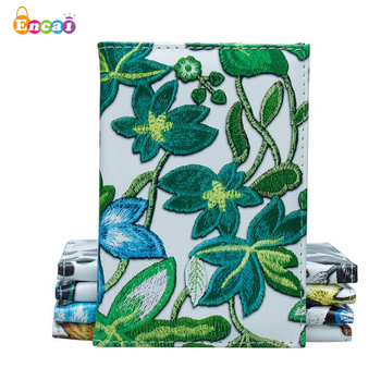 Encai New Design Flower Printing Passport Cover Travel Tickets Cards Passport Holder