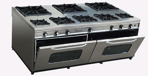 kommerziellen gas kochen bereich und Backofen Herstellung Hersteller, Lieferanten, Exporteure, Großhändler