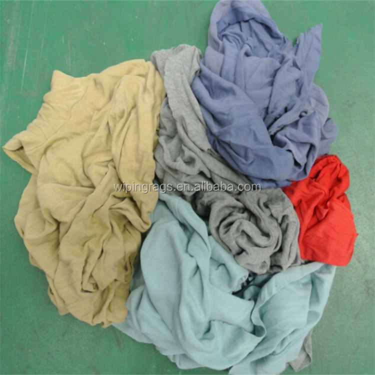 Disposable industrial cotton wiping rags with 10kg bale