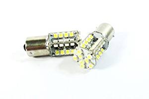 LEDIN 2x (BA15s 1156 7506 P21W) 40 SMD LED Courtesy Light Bulb White 6000K