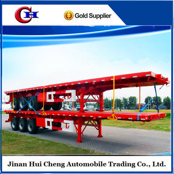 flatbed self loading container trailer for sale