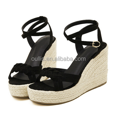 2015 Fashion Latest Wedge Sandals Espadrilles Woman Shoes Sexy ...