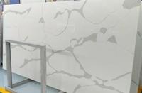 White Calacatta Quartz slabs Artificial Calacatta Gold Quartz Stone