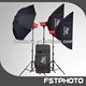 Professional Tungsten Studio Lighting For People Portrait