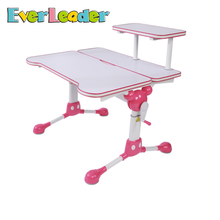 Everleader Ergonomic Child Desk Size Fashion Design Modern Cheap Student Study Table With Chair For Kids On Sale