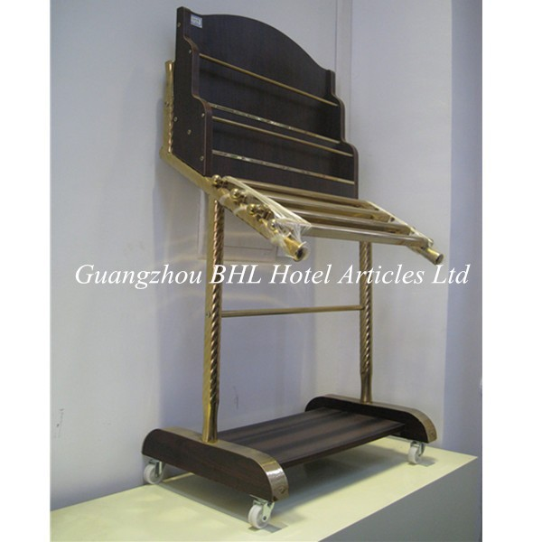 Guangzhou Hôtel Fournitures En Bois Bibliothèque Magazine Rack En - Porte journaux
