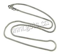 2mm 10x5x3mm Snake Chain Thailand Sterling Silver Necklace Chain