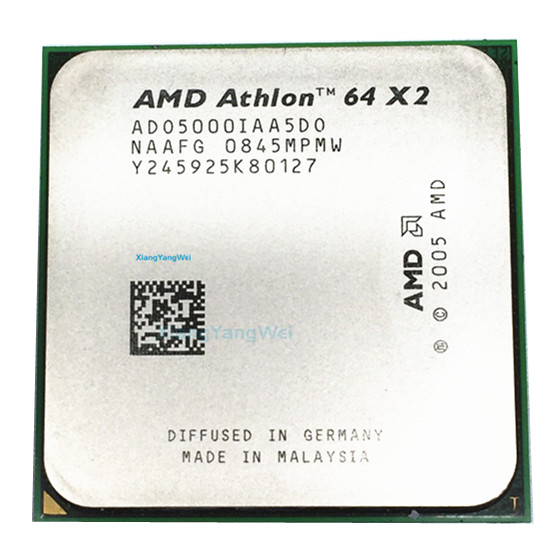 For Amd Athlon 64 X2 5000 Cpu Processor 2 6ghz 1m 1000ghz Socket Am2 Working 100 940 Pin Sell X2 5200 4800 Buy X2 5000 X2 5000 Product On Alibaba Com