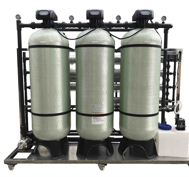 2000 Liter Per Hour Industrial Reverse Osmosis Water System