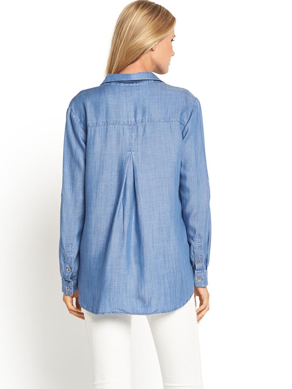 Soft Denim Shirt Womens