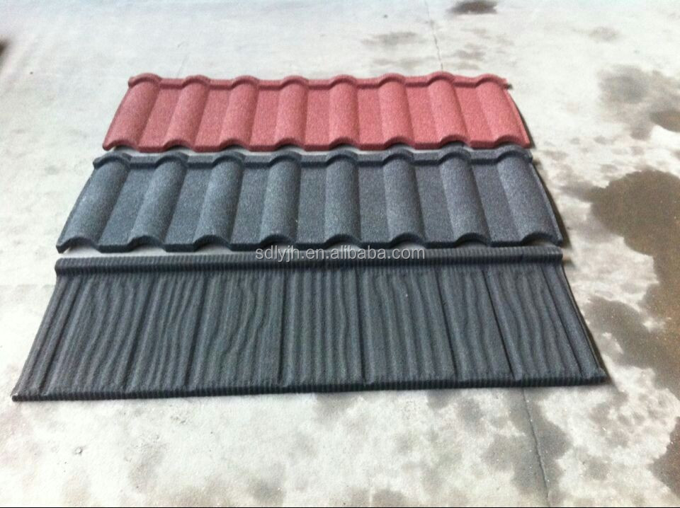 iso certified light weight stone coated tile roof buy. Black Bedroom Furniture Sets. Home Design Ideas