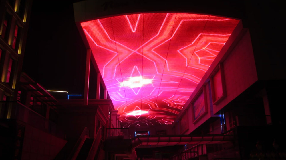 P80 Strip Led Light Led Curtain Led Building Illumination