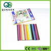 high quality 7inch hexagonal colour pencil 24pcs in a color box