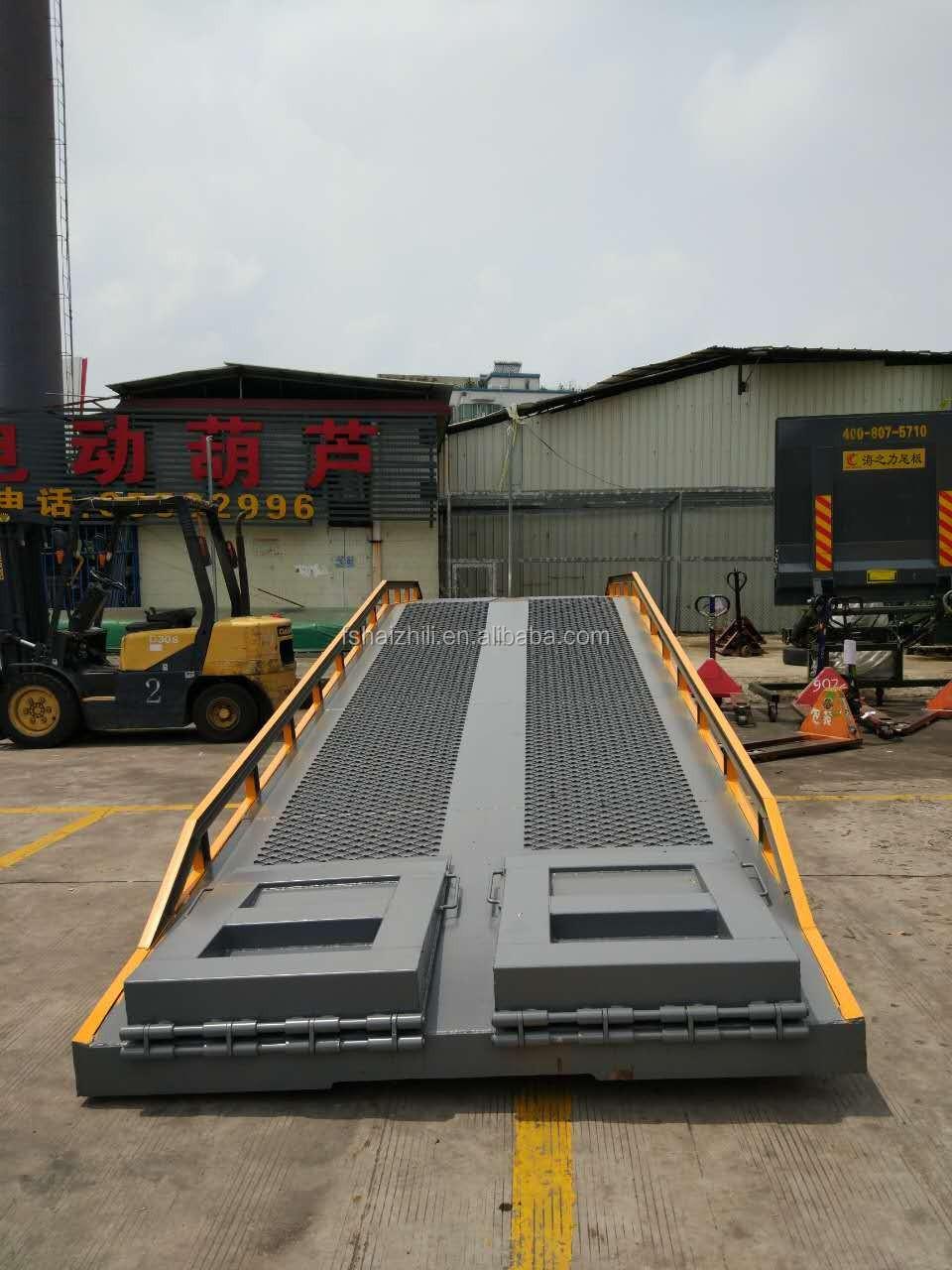 10 tonnes heavy duty camion conteneur rampe de chargement for Piscine mobile sur camion