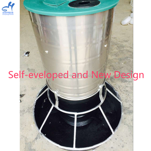 Wholesale price with self -eveloped and new design pig stainless steel feeder for big pig house