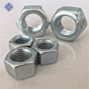 50mm hex keps nut of carbon steel