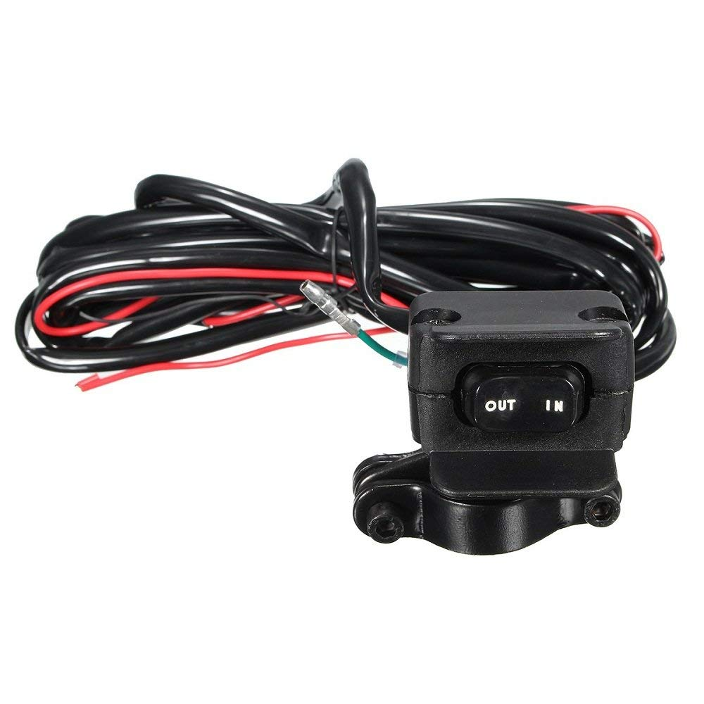 Get Quotations · VVHOOY Replacement ATV/UTV Winch Handlebar Rocker Switch  Control Line for All Winches