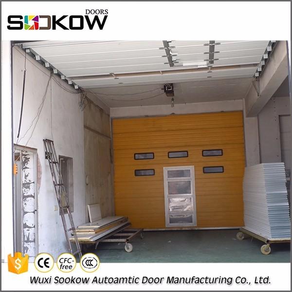 Galvanized steel cheap garage industrial door with Wicket & garage industri door-Source quality garage industri door from ... pezcame.com