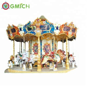Popular electric toy carousel,merry go round, amusement park carousel horses for sale