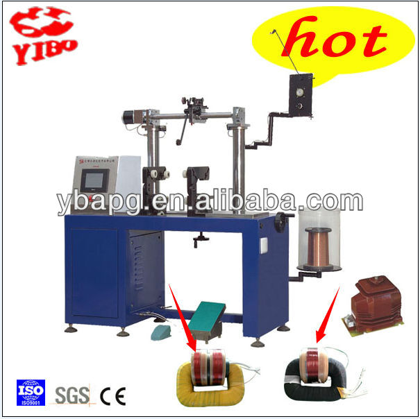 Factory made Good price High Winding Precision Voltage Transformer Toroid Core Winding Machine Factory YR240J