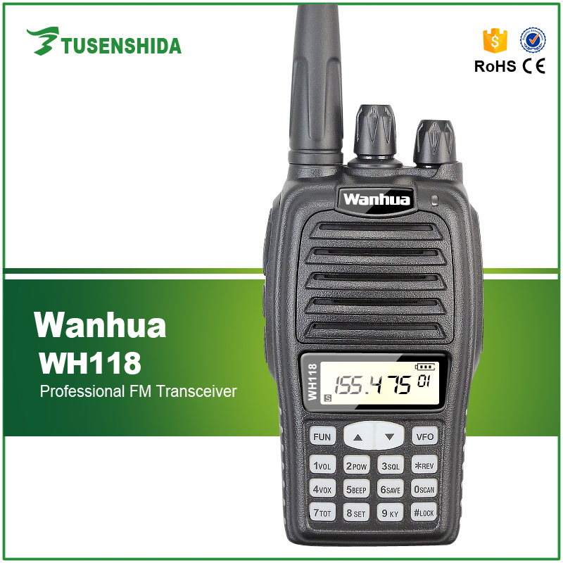 Commercial Walkie Talkie 2 Way Radio Wanhua WH-118 On Sale