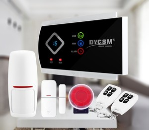 2018 Home Automation Integrated Multilanguage GSM/SMS 3G Security Alarm System with 6 preset phone numbers