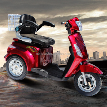 EEC APPROVED 500w electric scooter for handicapped