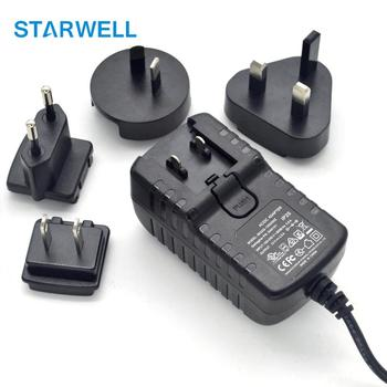 12V 36W universal adapter with US EU AU UK ac plug 2years warranty global power supply