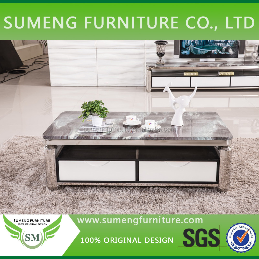 Living Room Furniture Stainless Steel Centre Table,Stainless Steel ...