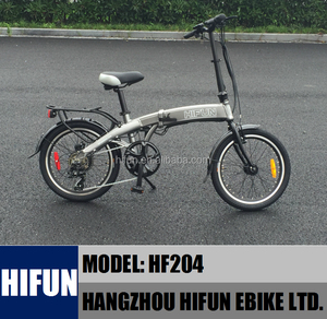 HIFUN Brand 36V 250W Hidden Battery Foldable Electric Bicycle, Folding Ebike, Electric Foldable Bike