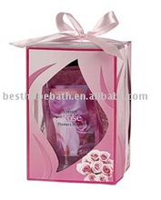 Valentine's Day bath gift set