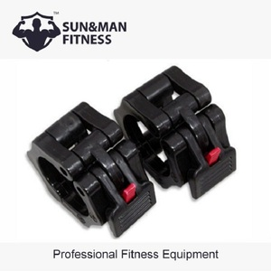 Standard Weight Lifting Plastic Barbell Clamp Collar